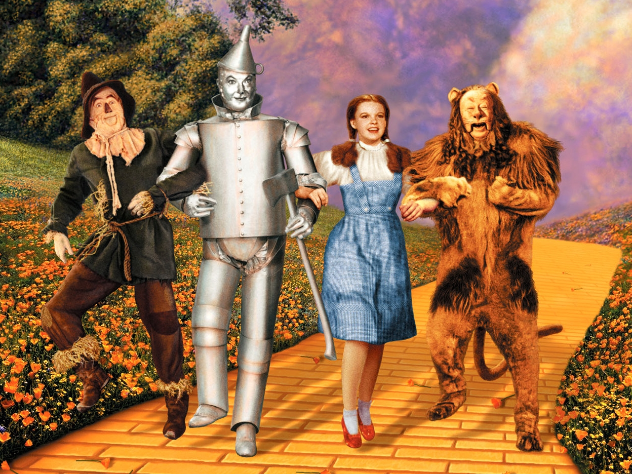 We're Off to See the Wizard
