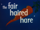 The Fair Haired Hare