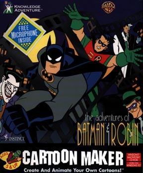The Adventures of Batman & Robin: Cartoon Maker