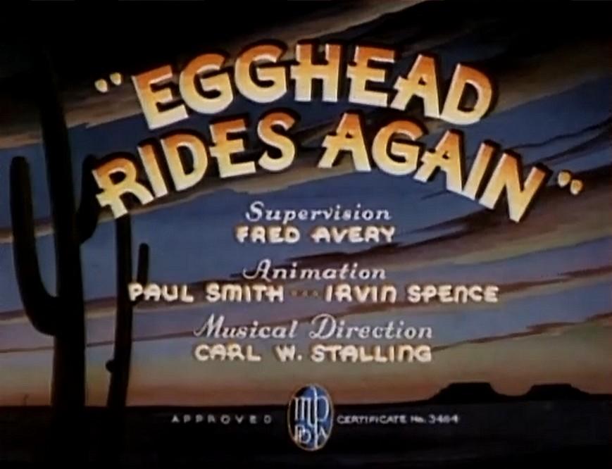 Egghead Rides Again