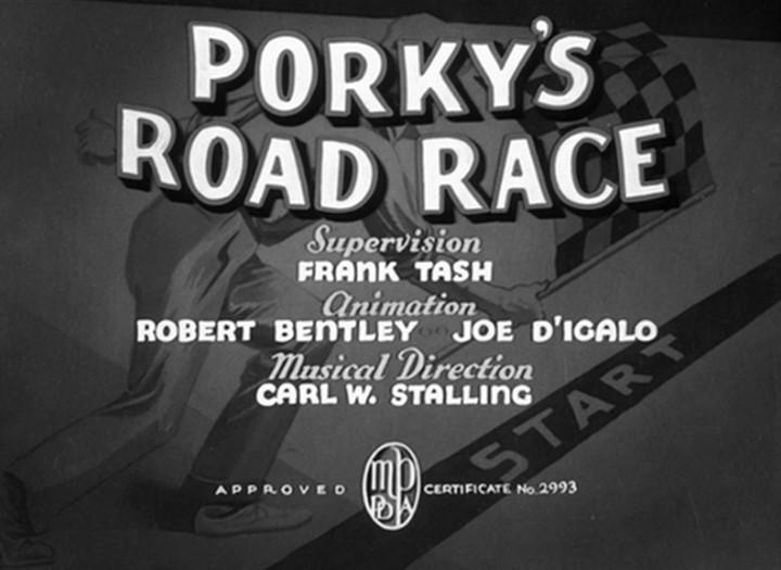 Porky's Road Race