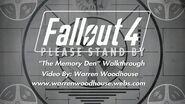 """FALLOUT 4 (PS4) - """"The Memory Den"""" Walkthrough"""