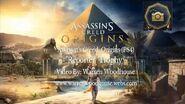 "ASSASSIN'S CREED ORIGINS (PS4) - ""Reporter"" Trophy"