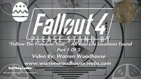 """FALLOUT_4_(PS4)_-_""""Follow_The_Freedom_Trail""""_-_All_Real_Life_Locations_Found_-_Part_1_Of_2"""