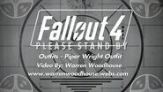 FALLOUT 4 (PS4) - Outfits - Piper Wright Outfit