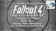 "FALLOUT 4 (PS4) - ""Reunions - Part 1 Of 2"" Walkthrough"