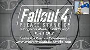 "FALLOUT 4 (PS4) - ""Dangerous Minds - Part 1 Of 2"" Walkthrough"