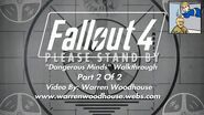 "FALLOUT 4 (PS4) - ""Dangerous Minds - Part 2 Of 2"" Walkthrough"