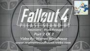 "FALLOUT 4 (PS4) - ""Reunions - Part 2 Of 2"" Walkthrough"
