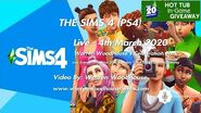 THE SIMS 4 (PS4) - Live - 4th March 2020 - Live Events - A Free Birthday Surprise (WAS LIVE)