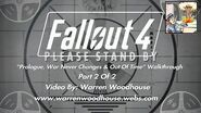 "FALLOUT 4 (PS4) - ""Prologue, War Never Changes & Out Of Time - Part 2 Of 2"" Walkthrough"