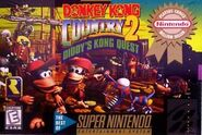 GameCases ByNintendo DonkeyKongCountry2DiddysKongQuest