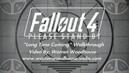 "FALLOUT 4 (PS4) - ""Long Time Coming"" Walkthrough"