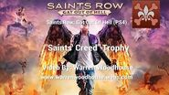 "SAINTS ROW IV GAT OUT OF HELL (PS4) - ""Saints' Creed"" Trophy"