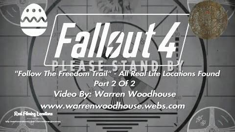 """FALLOUT_4_(PS4)_-_""""Follow_The_Freedom_Trail""""_-_All_Real_Life_Locations_Found_-_Part_2_Of_2"""