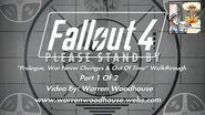 "FALLOUT 4 (PS4) - ""Prologue, War Never Changes & Out Of Time - Part 1 Of 2"" Walkthrough"