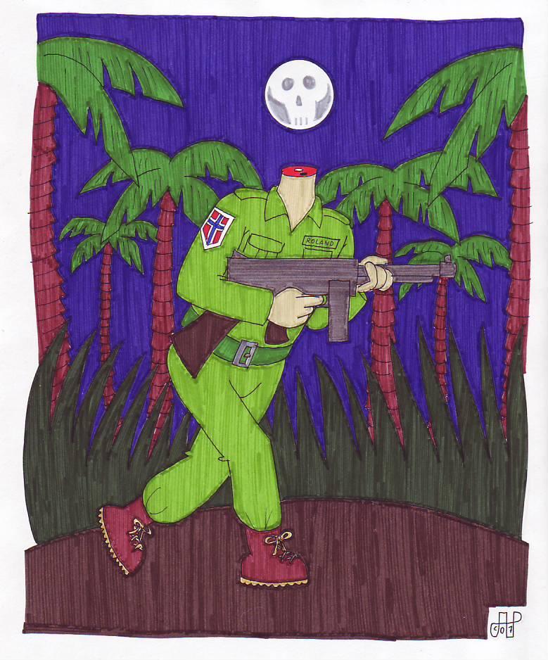 Roland The Thompson Gunner Avatar