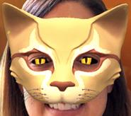 Blattstern Maske