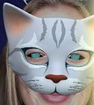 Häherfeder Maske