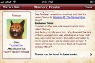 Feuerstern.Warriors App