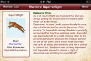 Eichhornschweif.Warriors App