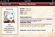 Schwarzstern.Warriors App