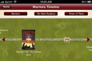 Warriors App Zeitstrahl