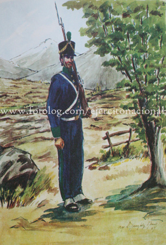 1-й батальон Егерей Андской армии
