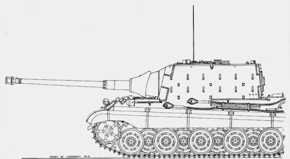 8,8 cm Pak 43 Jagdtiger