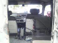 JGSDF Type73 Light Truck rear interior