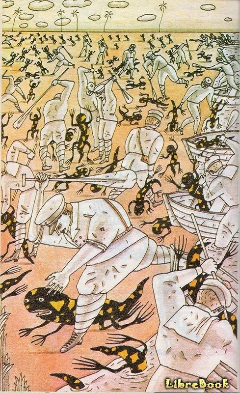 Корсары XX века (Война с саламандрами)