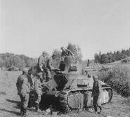 Брошеный при отступлении танк, июнь 1940 г. (3)