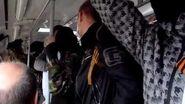 """Одесская Дружина """"захватила"""" трамвай, 10.04"""