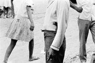 Вооруженный милиционер Ton-Ton Macoute, глаза и уши репрессивного режима Дювалье. Cap Haitiene. 1975.