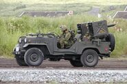 Type 73 truck with Type 64 ATGM