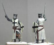 Фигурка Тевтонца с мечом