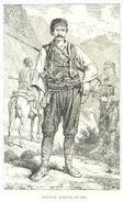 MACKENZIE(1877) p1.012 SERBIAN BORDER GUARD