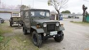 JGSDF Type 73 Light Truck(02-8050) right front view at Camp Okubo April 3, 2016