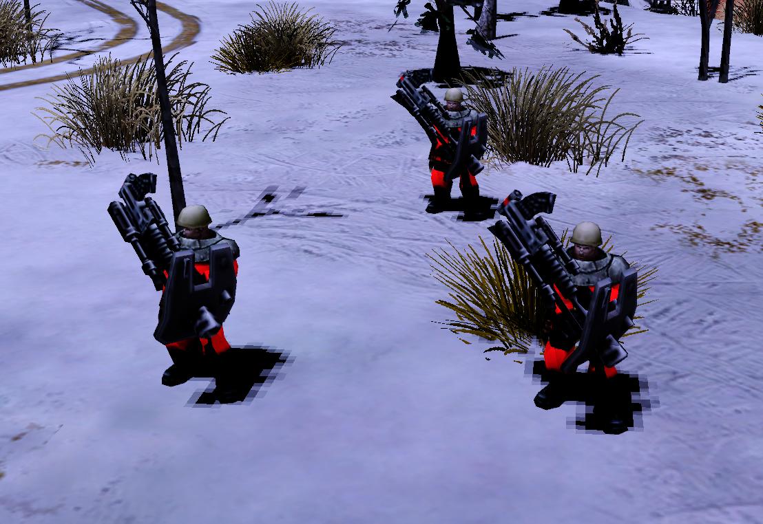 Бойцы ПВО (Red Alert 2)