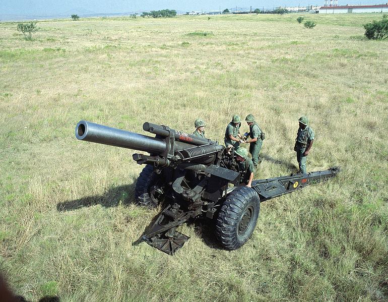 155-мм гаубица M114