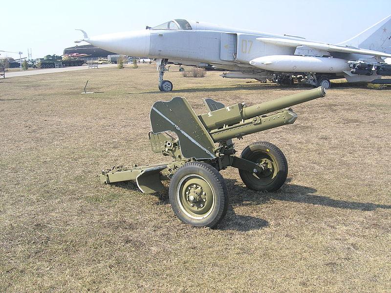 76-мм горная пушка образца 1958 года