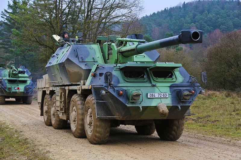 """152-мм самоходная пушка-гаубица vz.77 """"Дана"""""""
