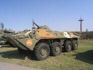 BTR-70, museum, Togliatti-1
