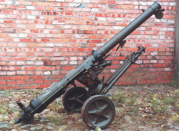 82-мм безоткатное орудие Б-10