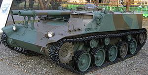 106-мм самоходное безоткатное орудие Тип 60