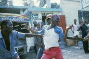 Гаитянские Вигиланты захватывают тонтон-макута, 1987 год