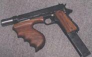 Dillinger machine pistol