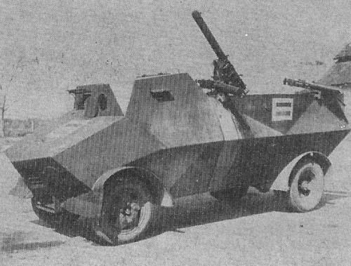 Braat Overvalwagen Luchtverdediging