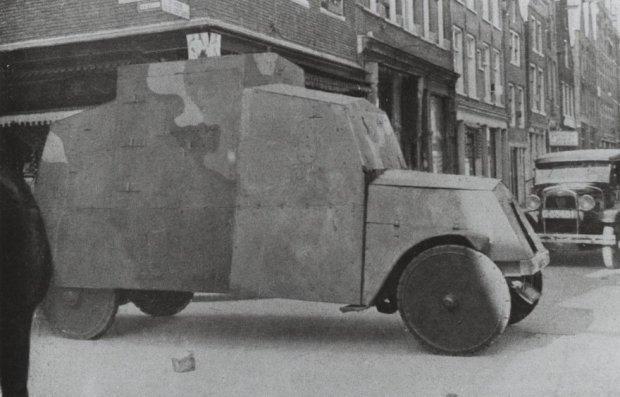 GMC Pantserwagen Haarlem