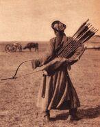 MongolArcherinInnerMongolia1940s